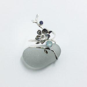 SeaSurfRocks ocean inspired sterling silver jewellery handmade in Cornwall custom orders