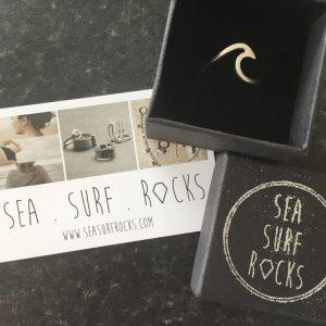 SeaSurfRocks ocean inspired sterling silver jewellery handmade in Cornwall vouchers